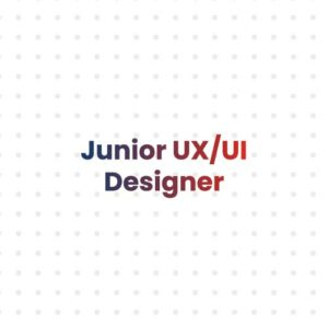 Junior UX Designer